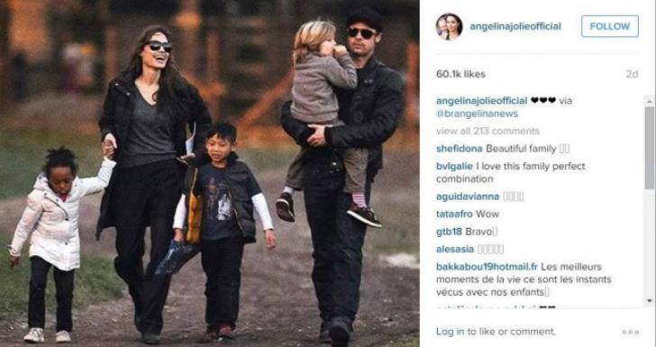 Angelina Jolie, Brad Pitt şi cei şase copii ai lor -pictorialul care face înconjurul internetului