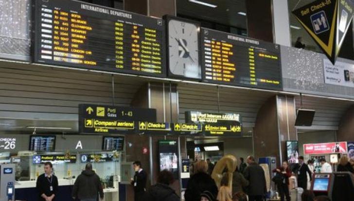 """Cate persoane au tranzitat Aeroportul """"Henri Coanda"""" in 2014. Pe ce loc se afla in UE"""