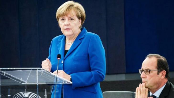 Angela Merkel critica tarile care au respins cotele de refugiati. Romania, direct vizata