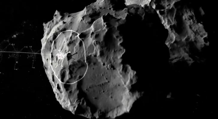 Descoperirea istorică făcută de sonda spaţială Rosetta