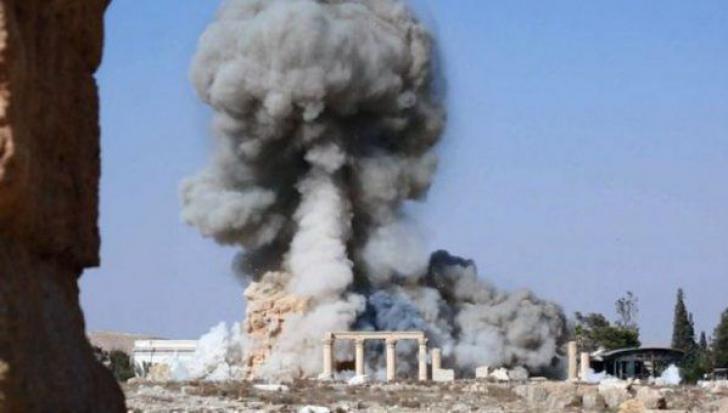 Rusia a bombardat Statul Islamic la Palmira. Primii jihadisti ucisi