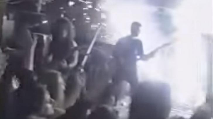 VIDEO cu incendiu din timpul unui concert, exact în aceleași condiții ca cel din Colectiv