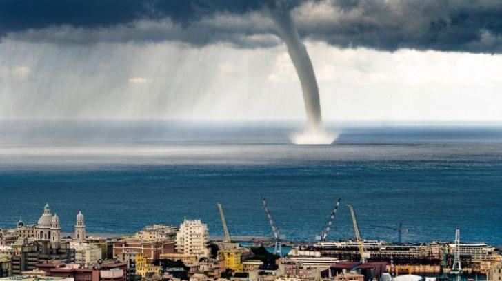 Oamenii de pe mal au mai apucat să vadă scenă imagine apocaliptică. Ce a urmat