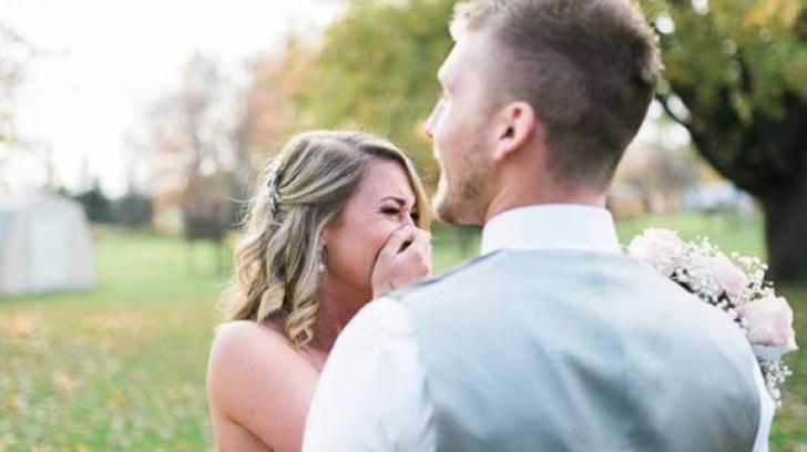 A plâns când a aflat că fotograful nu mai vine la nunta ei. Ce s-a întâmplat apoi e incredibil