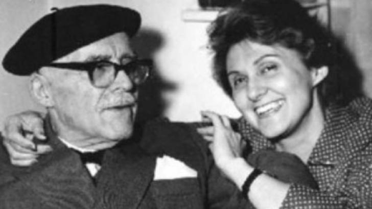 Mitzura Arghezi a fost înmormântată în grădina Casei Mărţişor, alături de părinţii săi