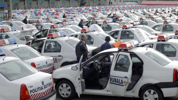 Poliția schimbă mașinile. Care este noua marcă a autospecialelor și cu cât au fost achiziționate
