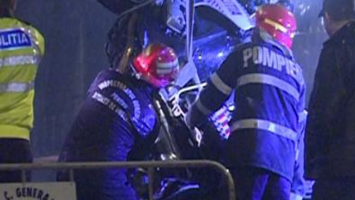 Un alt poliţist din coloana oficială a lui Oprea a fost rănit într-un accident rutier, în septembrie