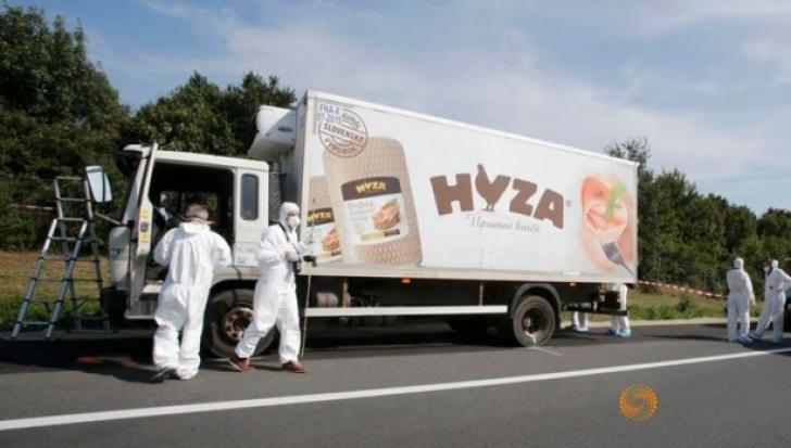 Descoperire terifiantă într-un camion frigorific. Autoutilitara avea ca destinație România