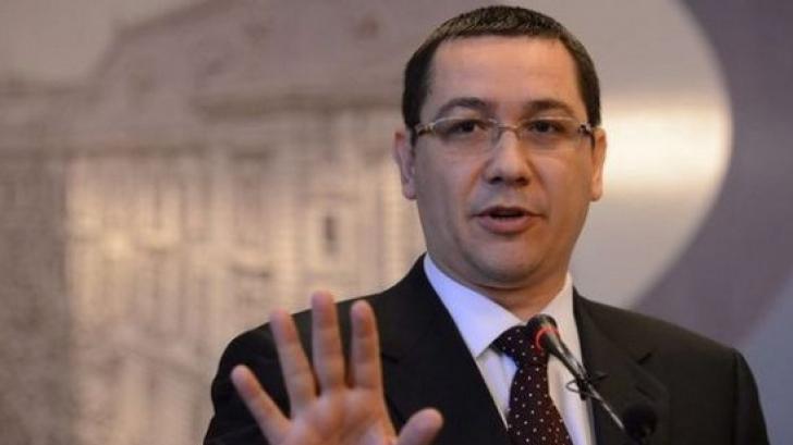 Ponta: România renunta, pentru moment, la aderarea la spatiul Schengen