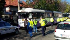 Accident de tramvai extrem de grav în Timşoara. Peste 15 răniţi