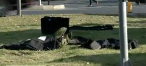 Pachet suspect în centrul Capitalei, în apropiere de Palatul Parlamentului. Geanta era goală