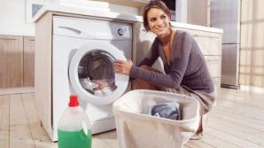 Cum să cureţi maşina de spălat