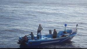 Patru pescari norocoşi