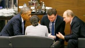 Obama îl avertizează pe Putin. Mesajul transmis de preşedintele american