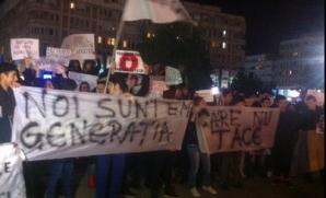 Proteste în zeci de oraşe din România