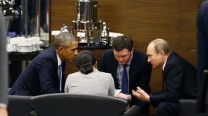 Imaginea zilei. Putin şi Obama, faţă în faţă