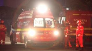 Tragedie în Bucureşti. O femeie şi-a dat foc la apartament şi s-a aruncat de la etajul 8