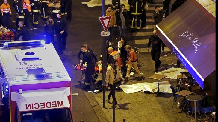 STARE DE URGENŢĂ ÎN FRANŢA. Val de atentate, luare de ostatici: 140 de morţi