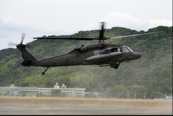 Elicopter militar, prăbușit în Statele Unite: patru persoane au murit
