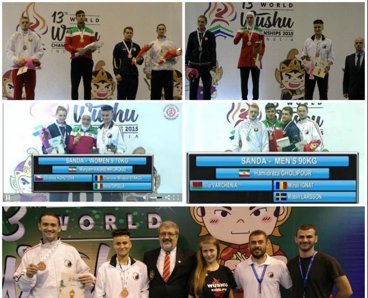 Performanță românească la Campionatul Mondial de Wushu 2015. Țara noastră a obținut 2 medalii