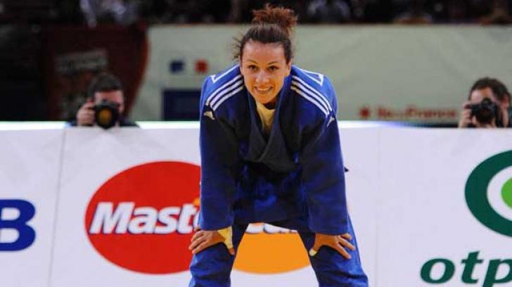 Andreea Chițu a câștigat Grand Prix-ul de judo din Coreea de Sud