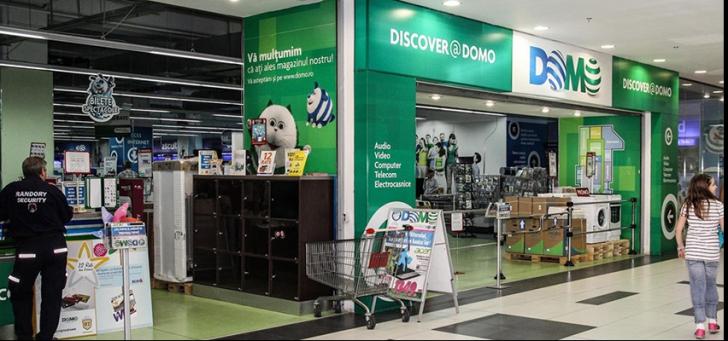 Domo închide toate cele 75 de magazine şi rămâne doar cu operaţiunile online