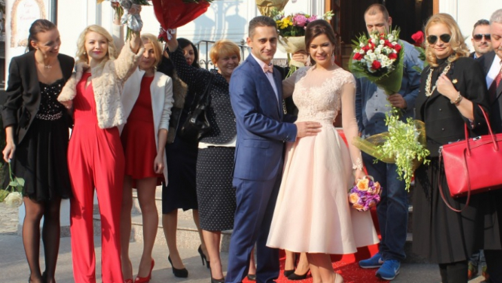 S-a însurat actorul Gabriel Fătu. Cum arată soţia lui