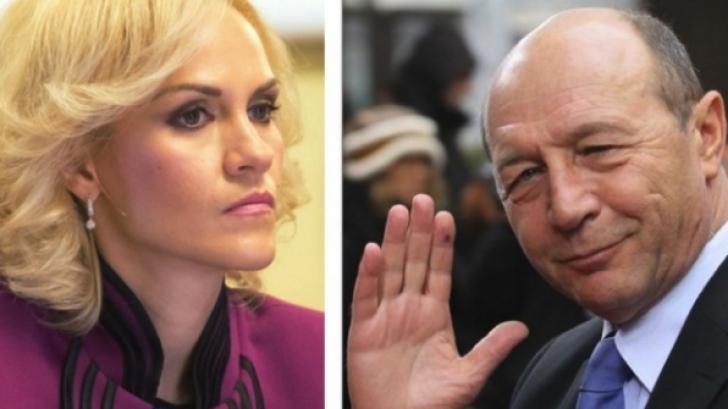 Traian Băsescu a căzut la pace cu Gabriela Firea. Dosarul s-ar putea închide. Update