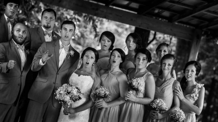 Trebuia să fie cea mai frumoasă fotografie de nuntă, dar un singur detaliu a dus la acest dezastru