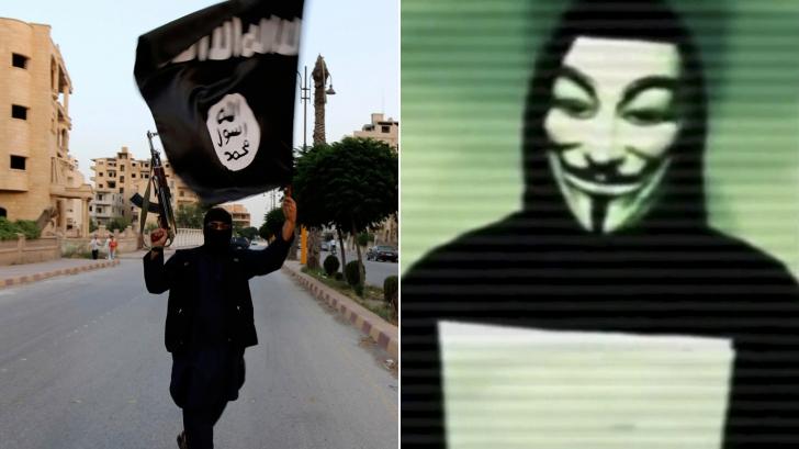 Avertisment Anonymous: Jihadiştii plănuiesc atacuri, duminică, în Atlanta şi la Paris