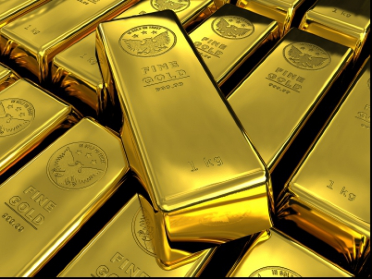 Aurul, cel mai scăzut preț din decembrie 2017
