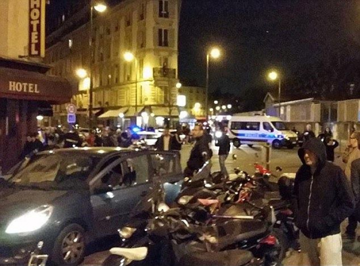 STARE DE URGENŢĂ ÎN FRANŢA. Val de atentate, luare de ostatici: 140 de morţi. Graniţele, închise