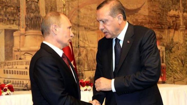 Tensiunile ruso-turce cresc. Putin a refuzat să se întâlnească cu Erdogan la summitul de la Paris