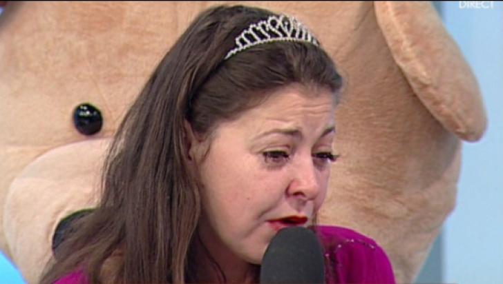 """Rita Mureşan, în lacrimi la TV: """"Mă bucur că mămica mea nu a plecat chiar de ziua mea!"""""""