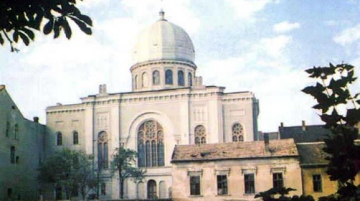 Cea mai mare sinagogă din România s-a redeschis, după ce 20 de ani s-a aflat în paragină