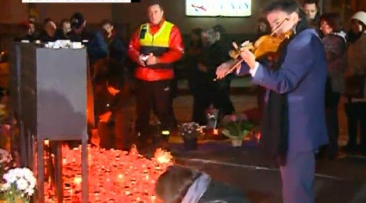 Unul dintre cei mai mari violoniști ai lumii, prezent la clubul Colectiv