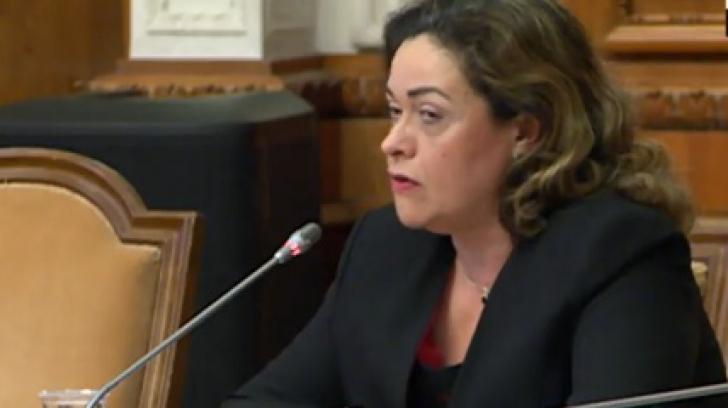Claudia Ana Costea, propusă la Ministerul Muncii, audiată în comisie. Care sunt obiectivele sale