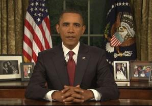 Obama în Biroul Oval
