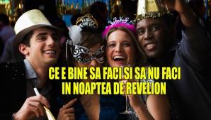 Ce să NU faci în noaptea de Revelion (Anul Nou)