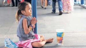DIICOT:Copiii români, obligați să fure și să cerșească în Franța, obţineau într-o zi şi 7000 de euro