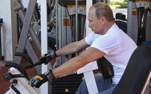 Putin la fitness