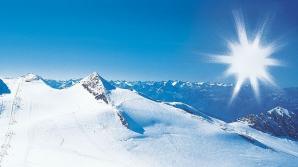 A şi nins la munte