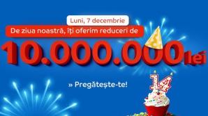 Ziua eMAG are loc pe 7 decembrie 2015. eMAG.ro împlinește 14 ani de prezență în România și sărbătorește această zi cu mari reduceri
