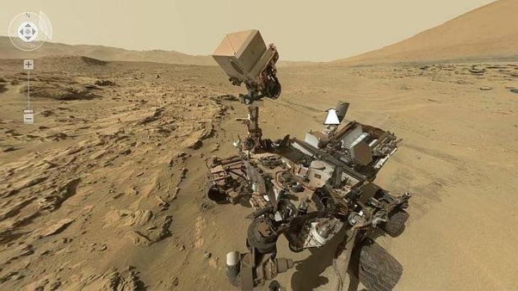 Premieră! Cum arată primul selfie de pe Marte