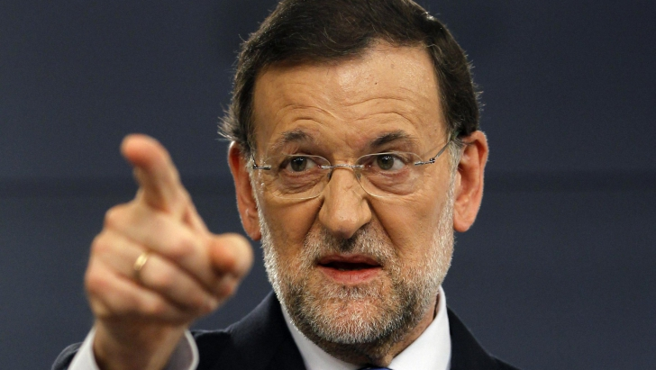 VIDEO. Primul ministru spaniol şi-a primit un pumn în faţa. Reacţia lui este uimitoare