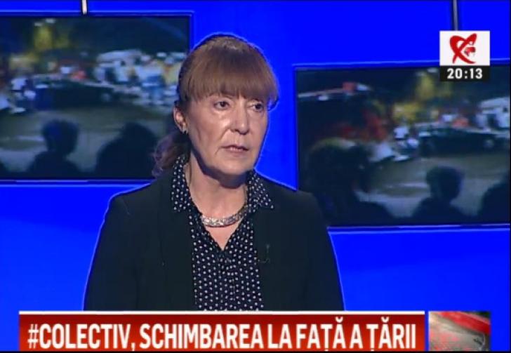 Monica Macovei: Morții din #Colectiv nu vor aduce nicio schimbare în clasa politică din România