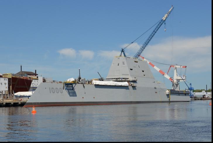 SUA au lansat la apă cel mai mare distrugător. PERFORMANȚELE SALE SUNT UIMITOARE