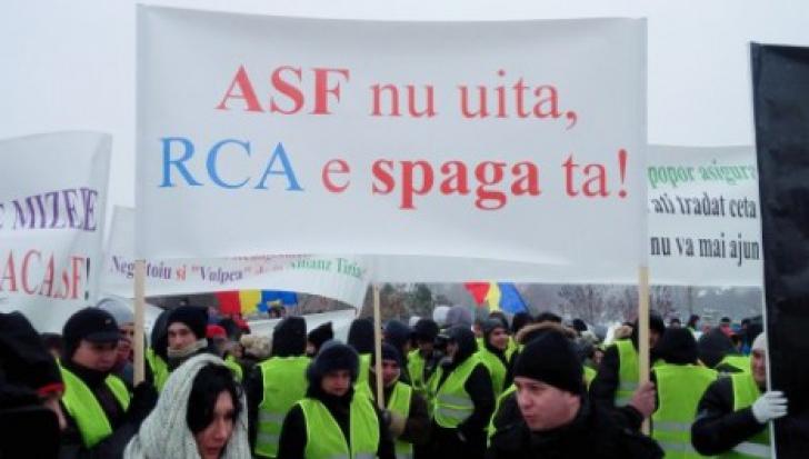 Protestul transportatorilor în faţa Guvernului a fost amânat. UPDATE