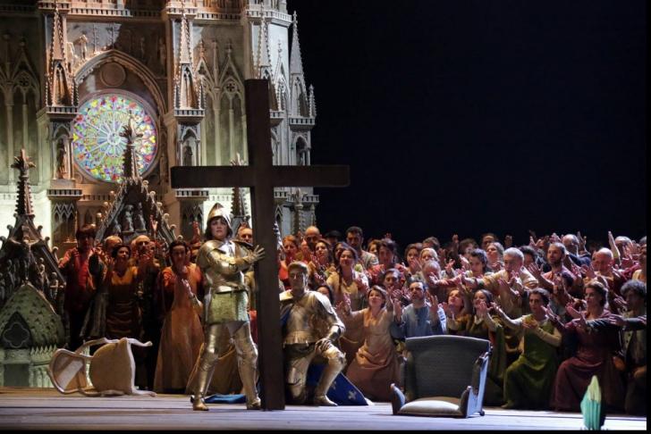 """Opera Scala din Milano a deschis stagiunea 2016 cu """"Ioana d'Arc"""" de Verdi"""