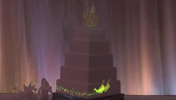 Au aşezat tortul de nuntă pe masă şi au stins lumina. Ce urmează e fabulos